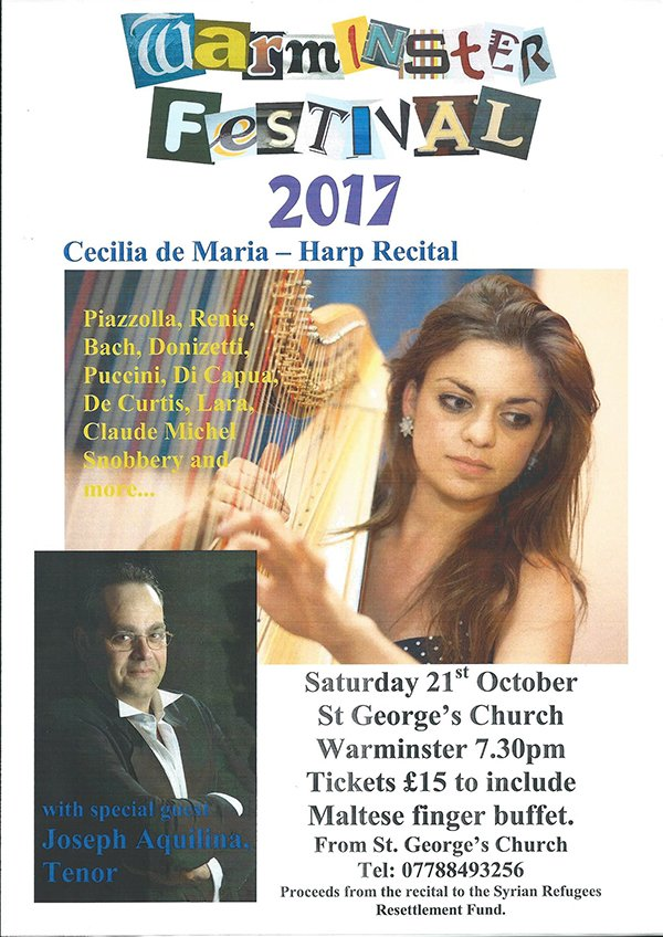 Warminster Festival Concert @ St George's Church, Warminster | England | United Kingdom