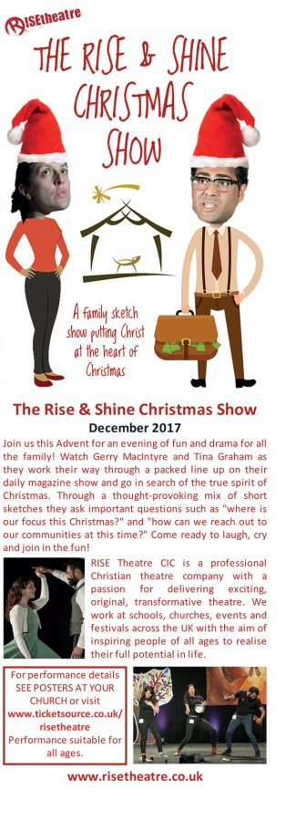Rise & Shine Christmas Show @ St Bernadette's Church, 729 Wells Rd, Bristol, BS14 9HU | England | United Kingdom